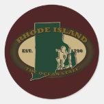 Rhode Island Est 1790 Stickers