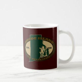 Rhode Island Est 1790 Taza De Café