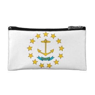 Rhode Island Flag Cosmetic Bag
