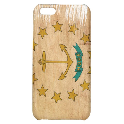 Rhode Island Flag iPhone 5C Cases
