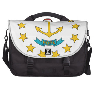 Rhode Island Flag Laptop Commuter Bag