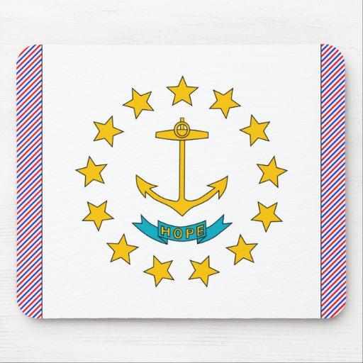 Rhode Island Flag Mouse Pad