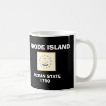 Rhode Island* Flag Mug