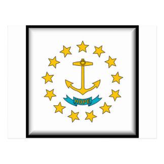 Rhode Island Flag Postcard