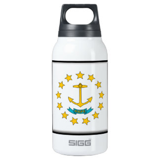 Rhode Island Flag 10 Oz Insulated SIGG Thermos Water Bottle