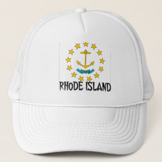 Rhode Island Flag Trucker Hat