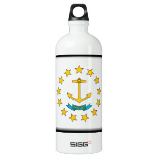 Rhode Island Flag Water Bottle