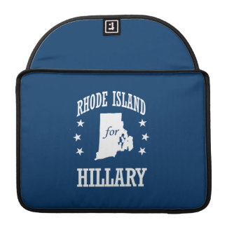 RHODE ISLAND FOR HILLARY SLEEVE FOR MacBook PRO
