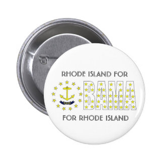 RHODE ISLAND FOR OBAMA Button