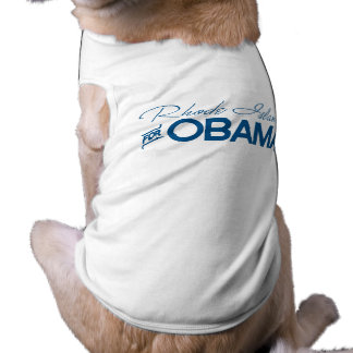 Rhode Island for Obama -.png Pet Clothing