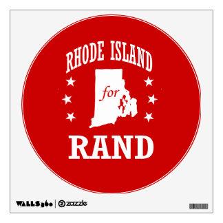 RHODE ISLAND FOR RAND PAUL WALL DECAL