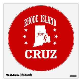 RHODE ISLAND FOR TED CRUZ ROOM STICKERS