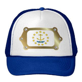 Rhode Island framed Flag Hat