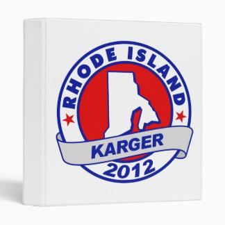 "Rhode Island Fred Karger Carpeta 1"""
