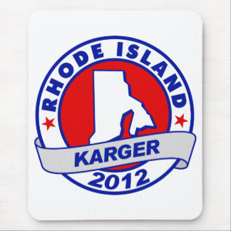 Rhode Island Fred Karger Mouse Pad