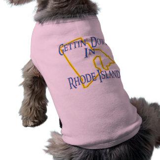 Rhode Island - Gettin' Down T-Shirt