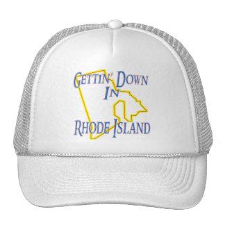 Rhode Island - Gettin' Down Trucker Hat
