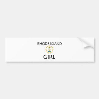 RHODE ISLAND GIRL BUMPER STICKERS