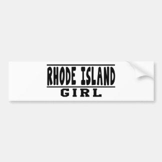 Rhode Island girl designs Bumper Stickers