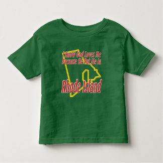 Rhode Island - God Loves Me Shirts