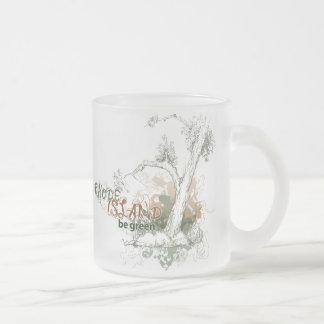 Rhode Island Green Tree Mug Glass
