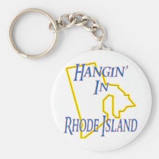 Rhode Island - Hangin' Keychain