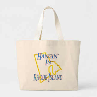Rhode Island - Hangin' Large Tote Bag