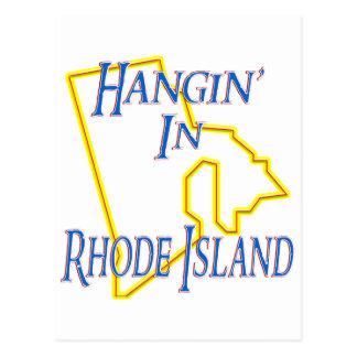 Rhode Island - Hangin' Postcard