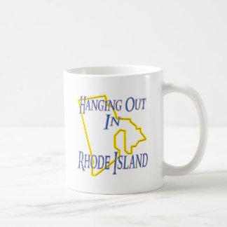 Rhode Island - Hanging Out Classic White Coffee Mug