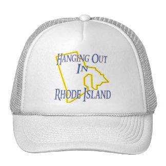 Rhode Island - Hanging Out Trucker Hat