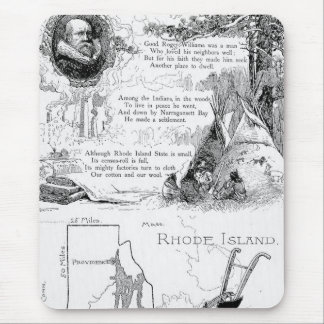 Rhode Island History Mouse Pad