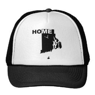 Rhode Island Home Away From State Ball Cap Hat