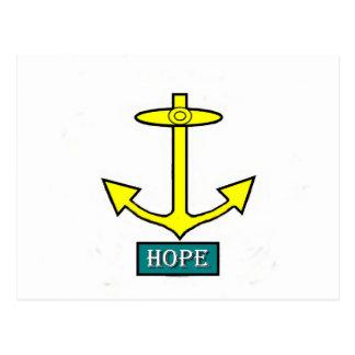 Rhode Island Hope Anchor Postcard