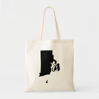 Rhode Island in Black and White Tote Bag