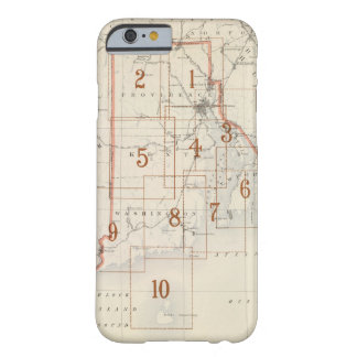 Rhode Island index map Barely There iPhone 6 Case