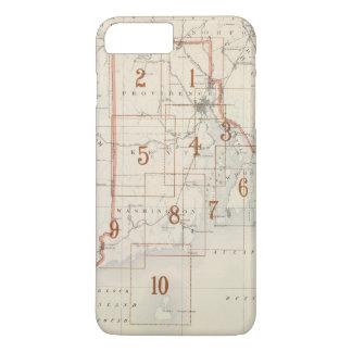 Rhode Island index map iPhone 7 Plus Case