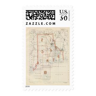 Rhode Island index map Postage