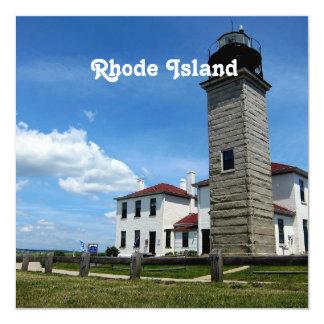 Rhode Island Custom Invitation