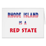 Rhode Island is a Red State Cards