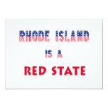 Rhode Island is a Red State Invitation