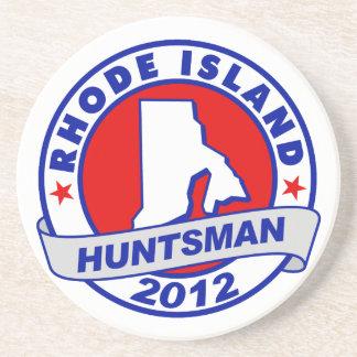 Rhode Island Jon Huntsman Drink Coaster