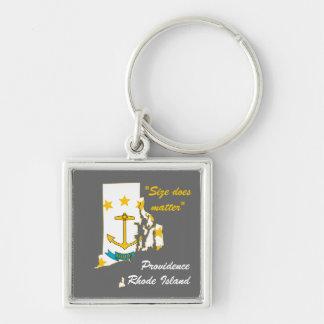 Rhode Island Key Chain