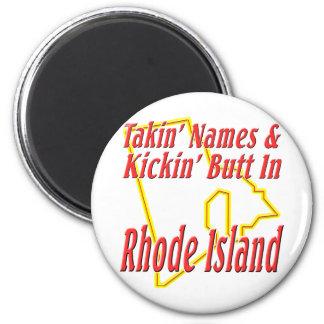 Rhode Island - Kickin' Butt Magnet
