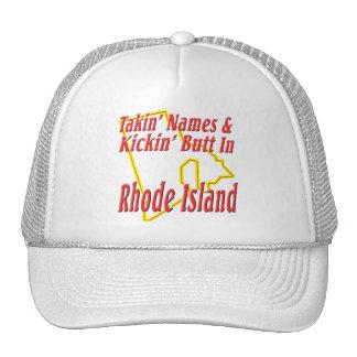 Rhode Island - Kickin' Butt Trucker Hat