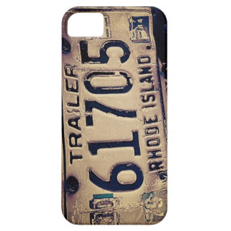 Rhode Island License Plate iPhone 5/5S Case