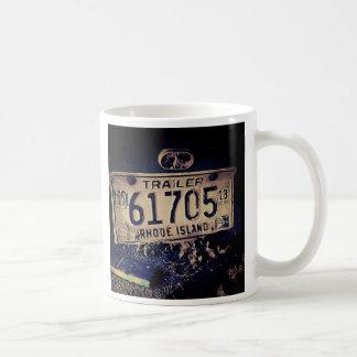 Rhode Island License Plate Mug