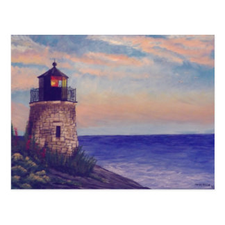 Rhode Island Lighthouse Postcard