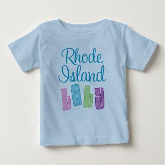 Rhode Island linda embroma la camiseta