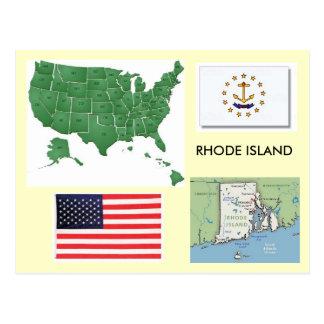 Rhode Island, los E.E.U.U. Postales