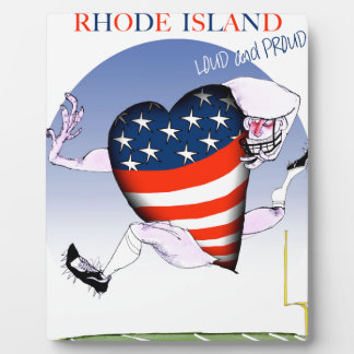 rhode island loud and proud, tony fernandes plaque
